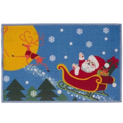 Коврик ПВХ с новогодними и рождественскими рисунками