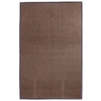 Коврик Step полипропилен 120x180 см цвет коричневый