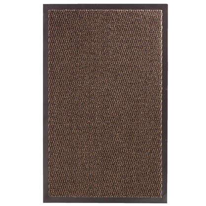 Коврик Step полипропилен 50x80 см цвет коричневый