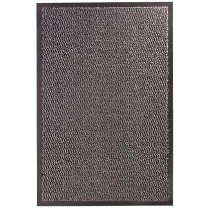 Коврик Step полипропилен 60x90 см цвет серый