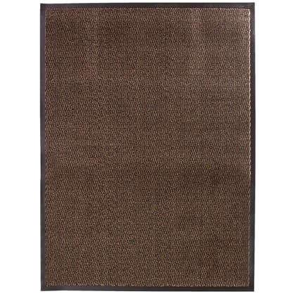 Коврик Step полипропилен 90x120 см цвет коричневый