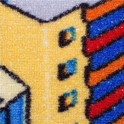 Ковролин Нева Тафт Мегаполис 950 принт детский 4 м цвет серый