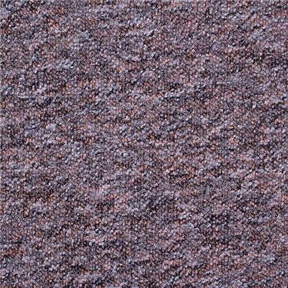 Ковролин Супер Стар 310 петлевое 4 м цвет чёрно-коричневый