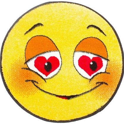 Коврик  Smiles диаметр 067 м полипропилен