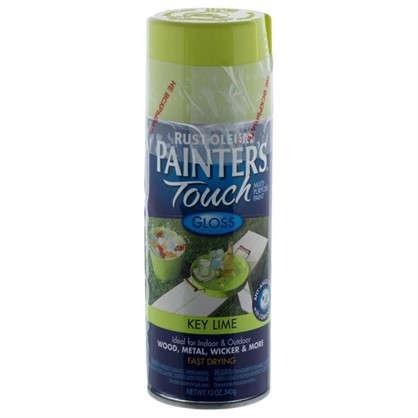 Краска аэрозольная Paint Touch глянцевая цвет салатовый 340 г