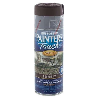 Краска аэрозольная Paint Touch полуматовая цвет эспрессо 340 г