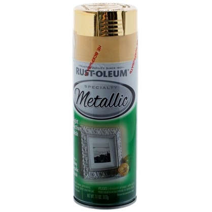 Краска аэрозольная Rustoleum цвет латунь - металлик 0.31 кг