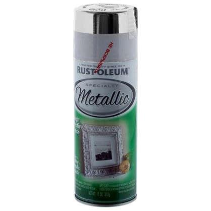Краска аэрозольная Rustoleum цвет серебристый металлик 0.312 кг