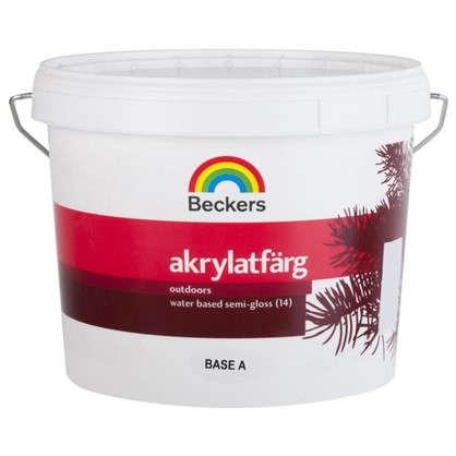 Краска для фасадов Beckers Akrylatfarg 2.7 л