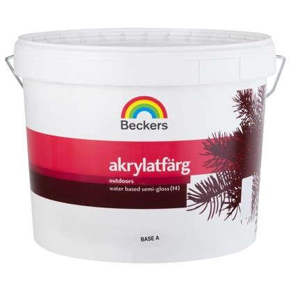 Краска для фасадов Beckers Akrylatfarg 9 л