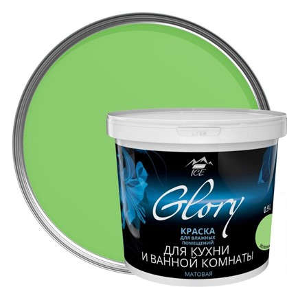 Краска для кухни и ванной цвет зеленая мята 0.9 л в