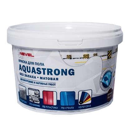 Краска для пола Aquastrong 2 кг  цвет коричневый в