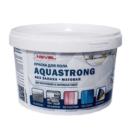 Краска для пола Aquastrong 2 кг цвет серый в