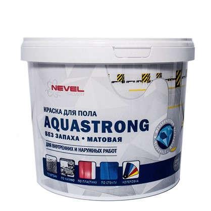 Краска для пола Aquastrong 6 кг цвет серый в