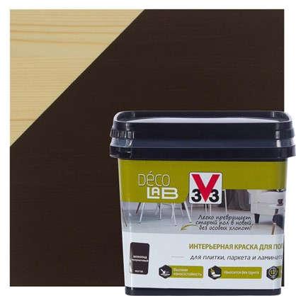 Краска для пола V33 Decolab 0.75 л цвет шоколад в
