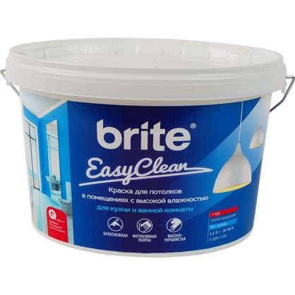 Краска для потолков Brite Easyclean цвет белый 2.5 л