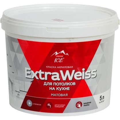 Краска для потолков Parade DYI ExtraWeiss цвет белый 5 л