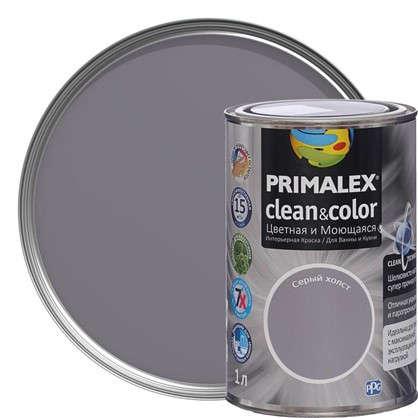 Краска PR-X Clean&Color 1 л Серый холст в