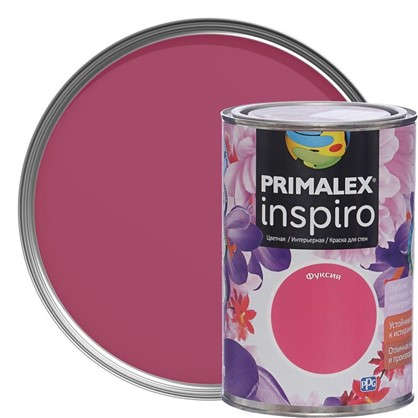 Краска Primalex Inspiro 1 л Фуксия