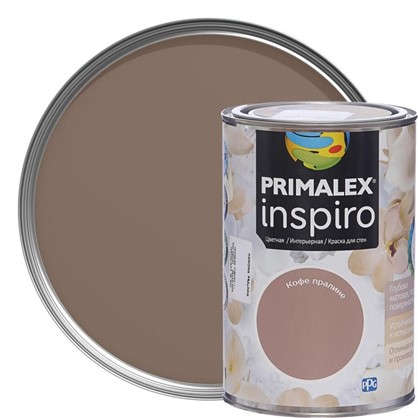 Краска Primalex Inspiro 1 л Кофе пралине в