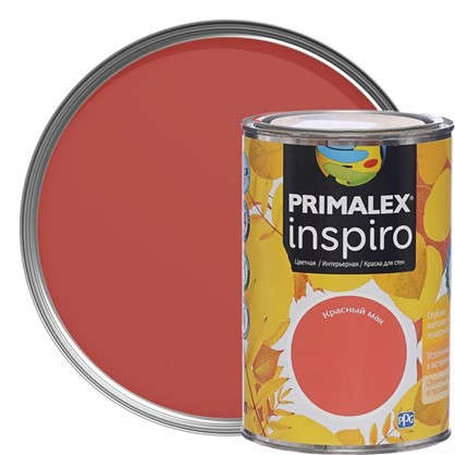 Краска Primalex Inspiro 1 л Красный мак в