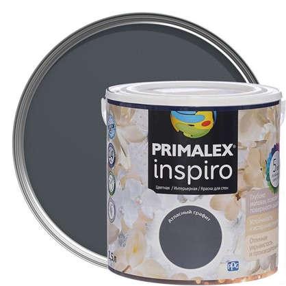 Краска Primalex Inspiro 25 л Атласный графит в