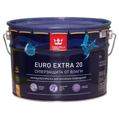 Краска Tikkurila Euro-20 цвет белый 9 л в