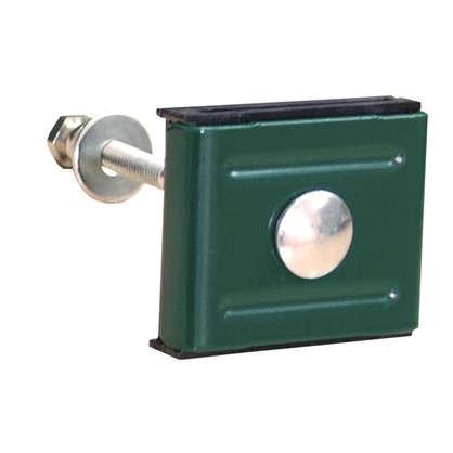 Креплен (скоба и болт М6x85) зеленый