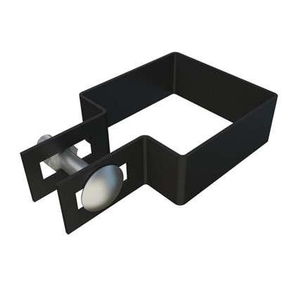 Крепежный хомут боковой 60х60 мм цинк