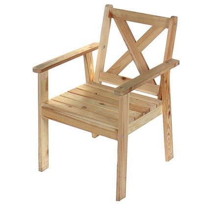 Кресло садовое Копенгаген Тренд 590x860x610 мм дерево