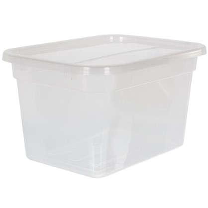 Крышка для ящика многофункциональная 51х2x38 см пластик цвет прозрачный