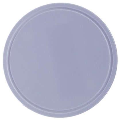 Крышка к круглой распределительной коробке пластик цвет белый