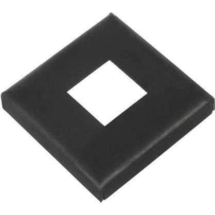 Крышка нижняя под трубу 20х110х110 мм сталь