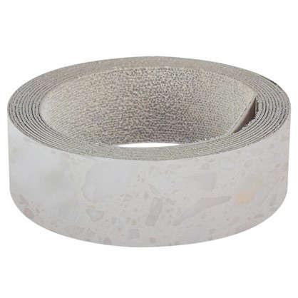 Кромка №905 с клеем для плинтуса 305х3.2 см цвет белые камушки