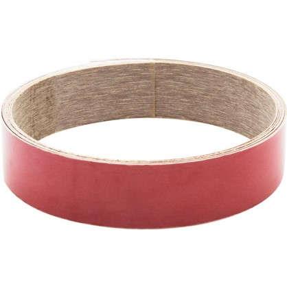 Кромка для плинтуса Анна 240х3.2 см цвет красный