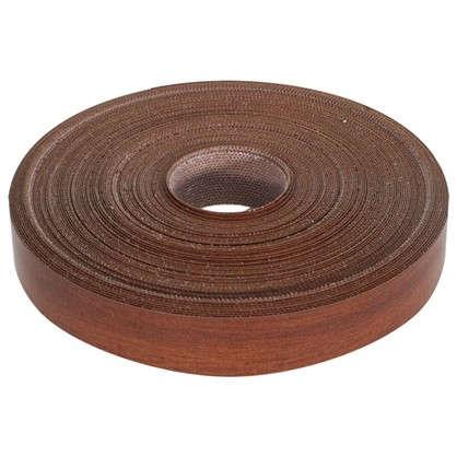 Кромочная лента 19 мм 20 м цвет итальянский орех