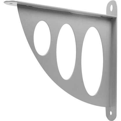 Кронштейн декоративный 20х19 см цвет металл