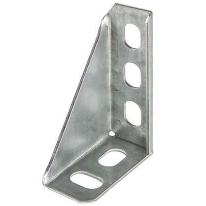 Кронштейн опорный 100 мм сталь оцинкованная