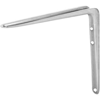 Кронштейн стандартный №6 25х30 см нагрузка до 15 кг цвет матовый серый