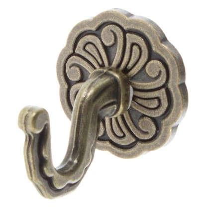 Крючок Ампир металл цвет золото 2 шт.