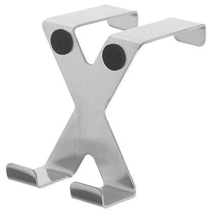 Крючок двойной надверный Tatkraft нержавеющая сталь