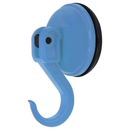 Крючок Funny на присоске цвет голубой