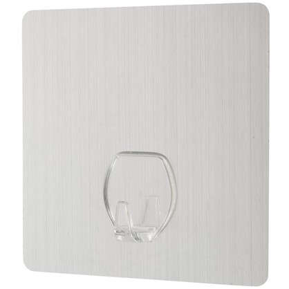 Крючок на силиконовом креплении 10x10 мм до 2.5 кг цвет серебро