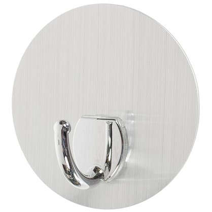 Крючок на силиконовом креплении d 10 мм до 2.5 кг цвет серебро