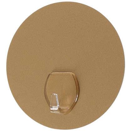 Крючок на силиконовом креплении d 10 мм до 2.5 кг цвет золото