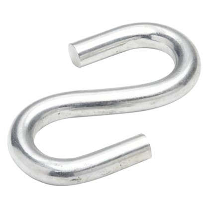 Крючок S-образный Standers 8х14.5 мм сталь оцинкованная цвет серебристый