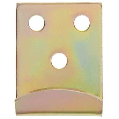 Крюк Gah Alberts для запора 34x2x25 мм цвет желтый