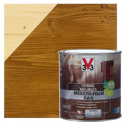 Лак для мебели V33 акриловый цвета темный дуб 0.5 л