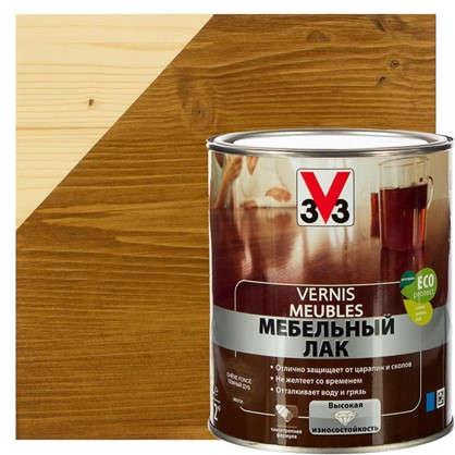 Лак для мебели V33 акриловый цвета темный дуб 1 л