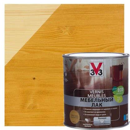 Лак для мебели V33 акриловый цвета золотой дуб 0.5 л